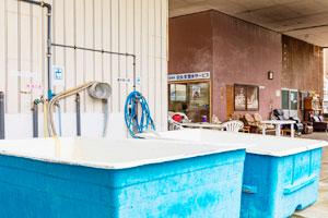 安良里ボートダイビングお風呂