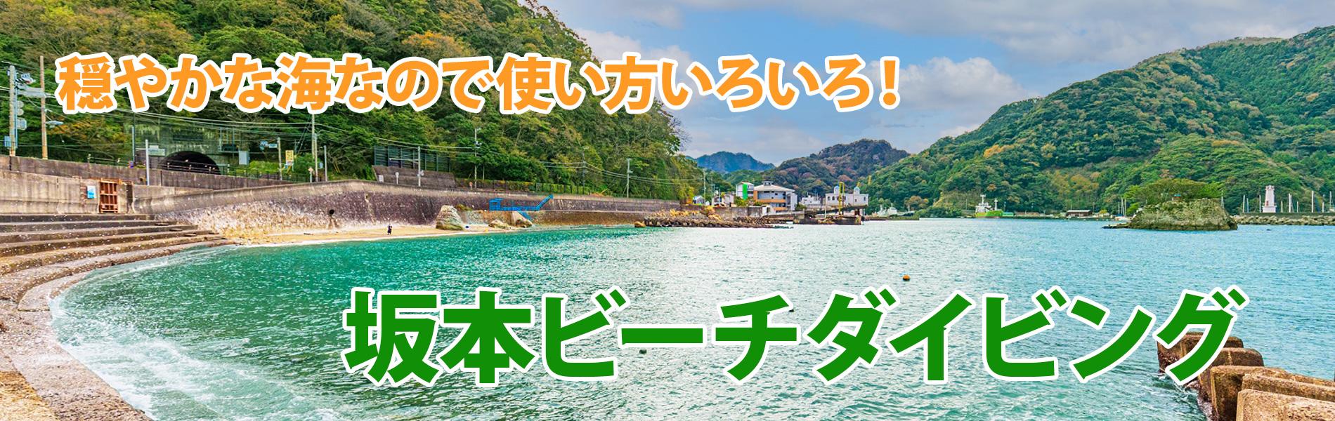 安良里潜水サービス 坂本ビーチ