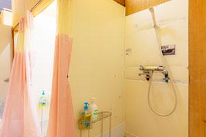 安良里潜水サービスシャワールーム